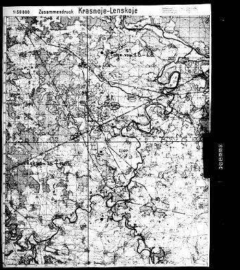 260 Дивизия вермахт.Калужка T315 R1823 (260.Jnf.Div.)