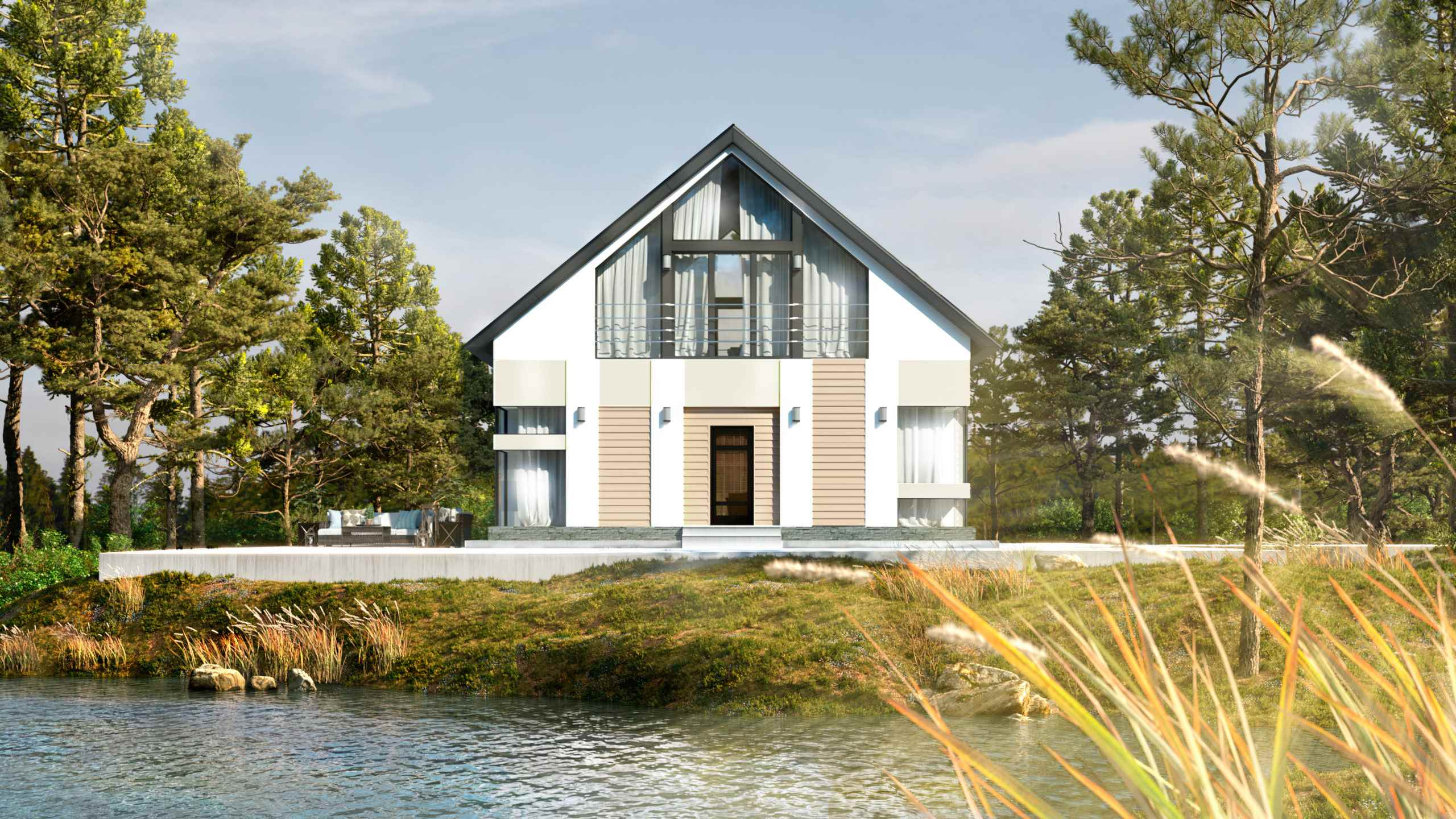 Проект строительства жилого дома