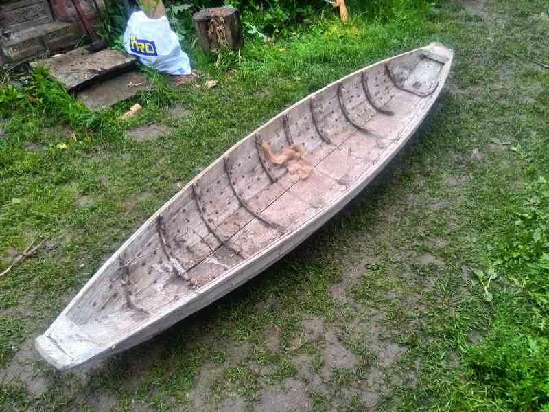 Лодка волокуша для раненых
