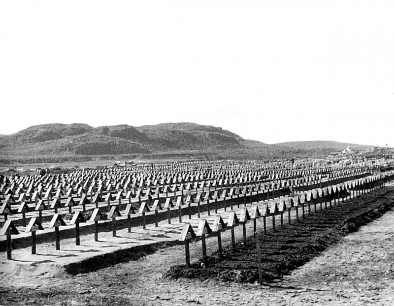 560806 Кладбище горных егерей Вермахта в Парккина (фин.Parkkino,Баркино,ныне Печенга).jpg