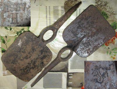Кирка-лопата Австрийского пулемётного расчёта
