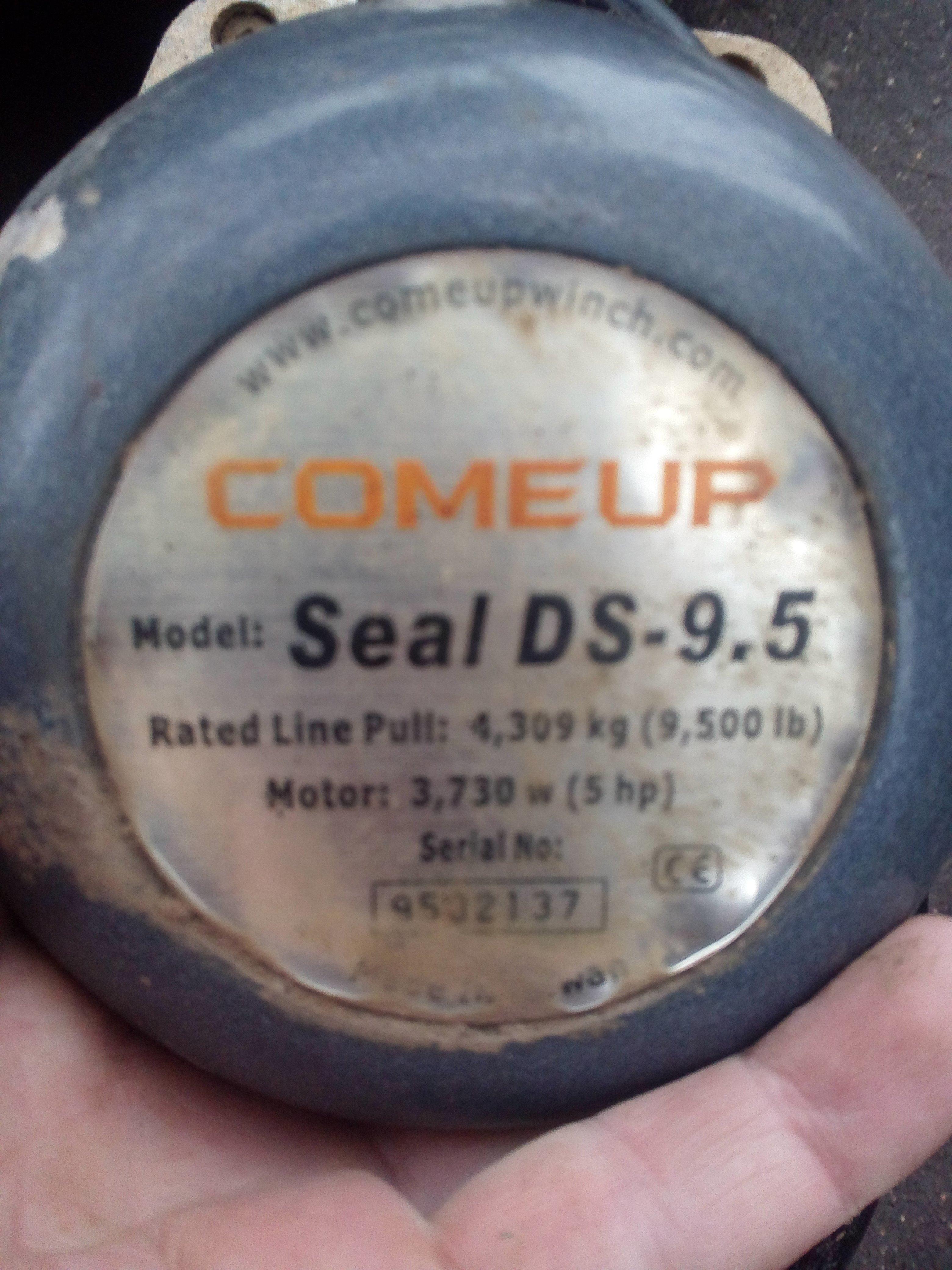 Продам Лебедку comeup Seal DS-9.5
